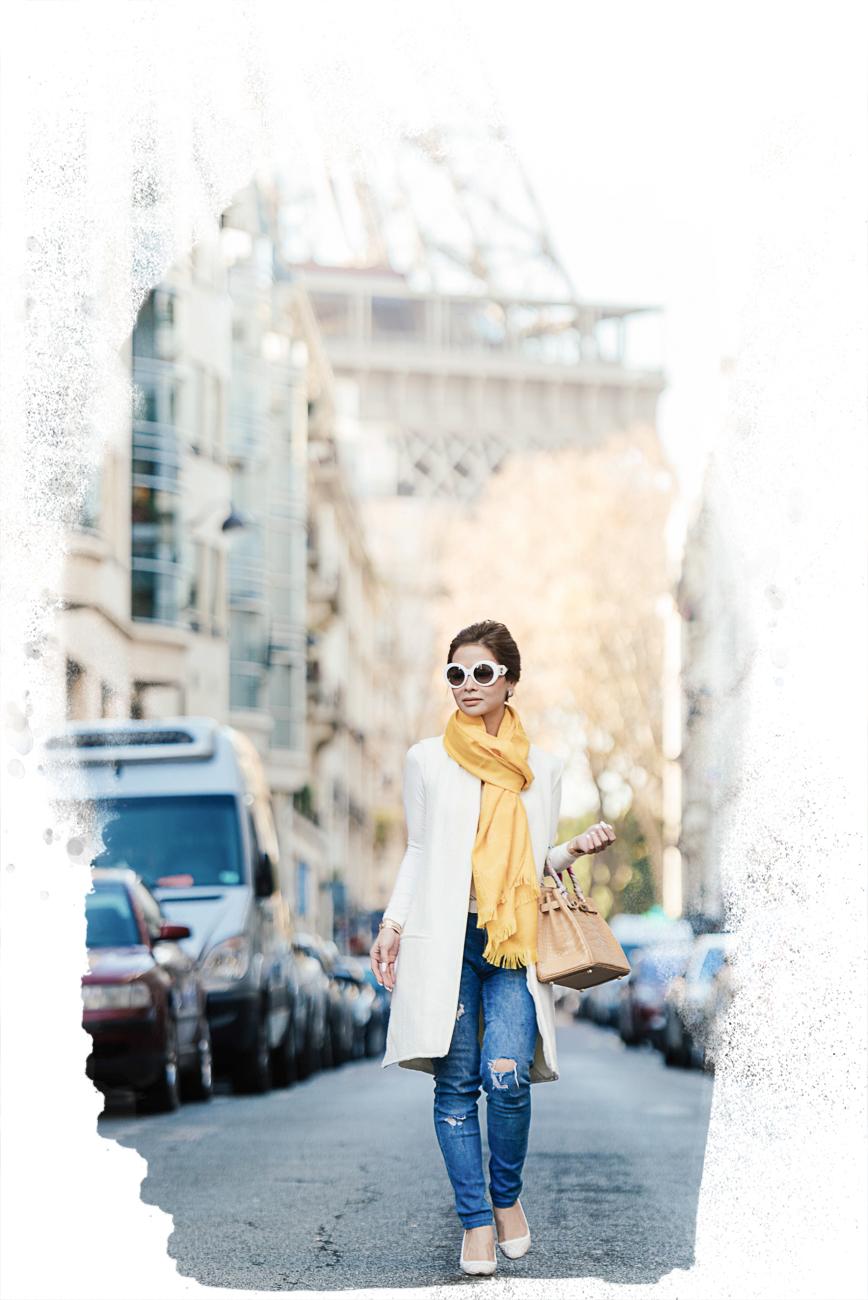 paris fashion blogger photo shoot