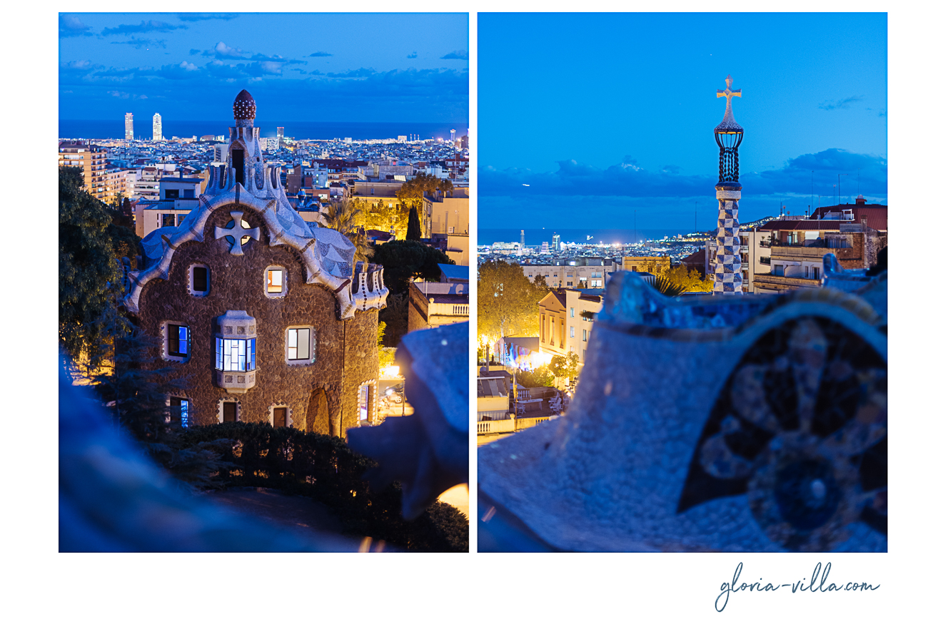 gloria-villa-parc-guell-blue-hour