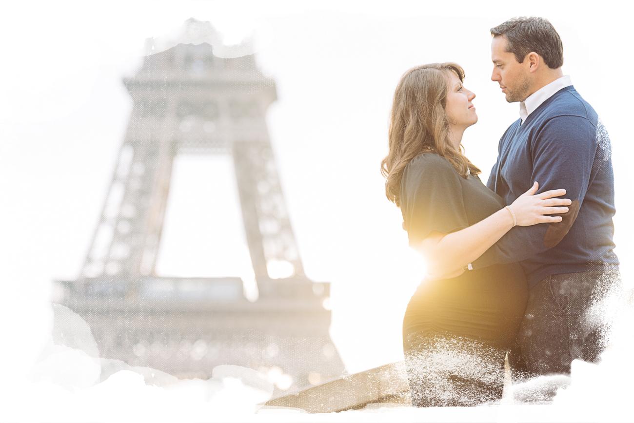 pregnancy photo shoot in paris