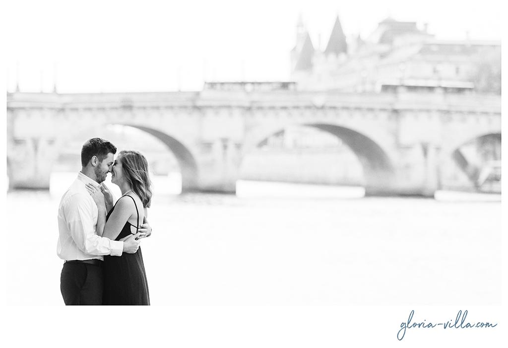 enamorados en paris