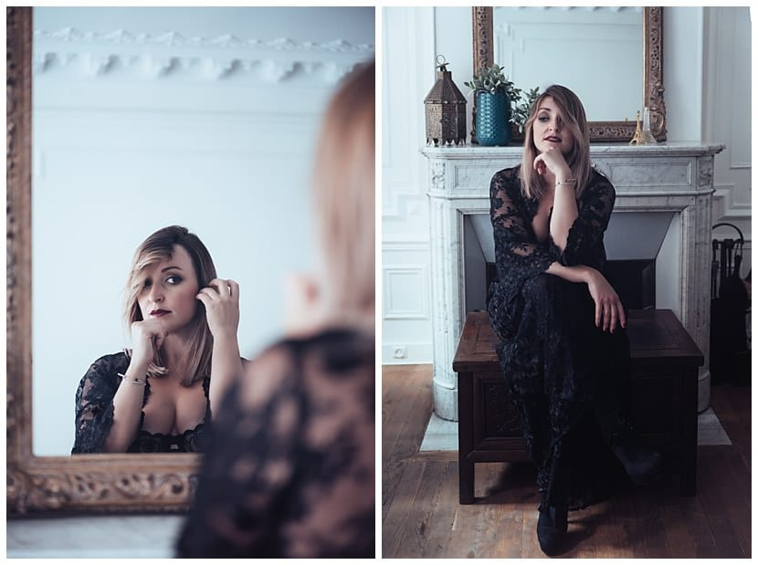 boudoir photography in Paris by gloria villa parisian studio