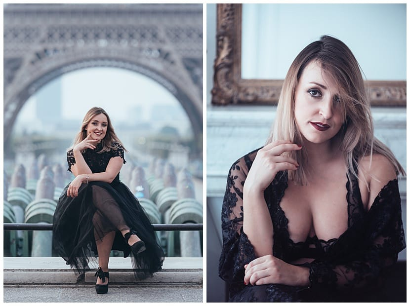 portraits and intimate boudoir photography in Paris by gloria villa