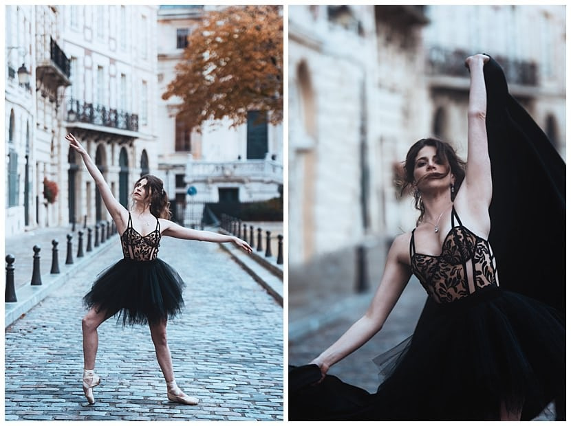 boudoir photography in Paris by gloria villa streets