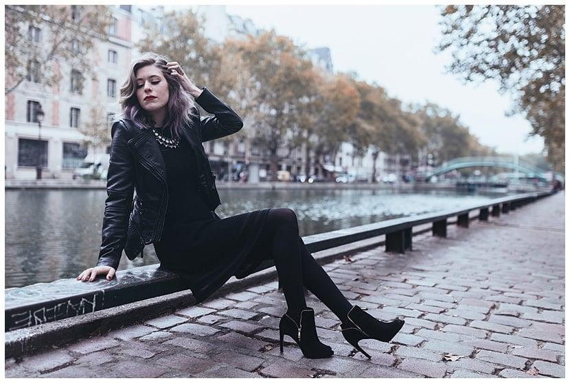 boudoir photography in Paris by gloria villa portrait canal