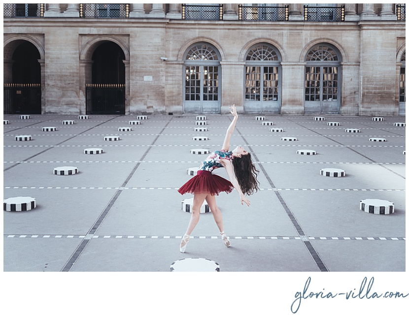 paris photoshoot with the ballerina and paris photographer gloria villa