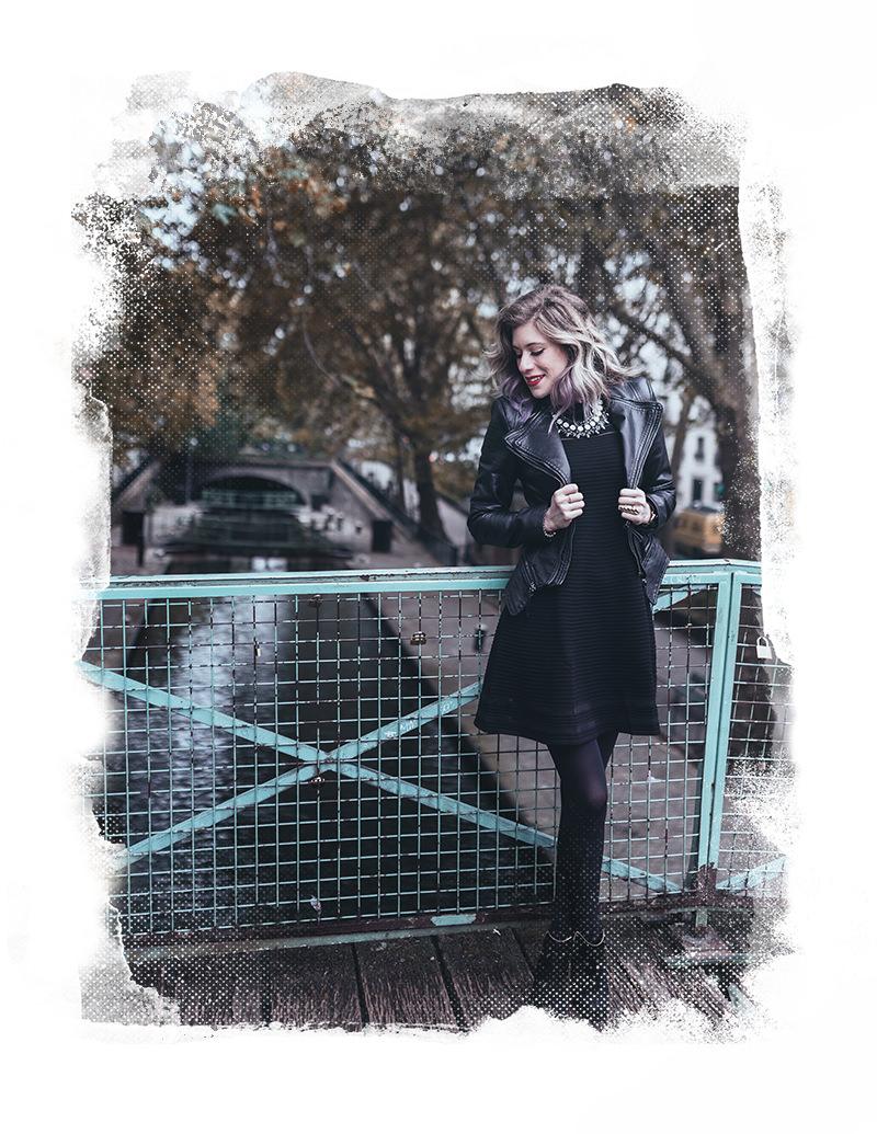 sesión de fotos de boudoir con gloria villa en canal san martín paris