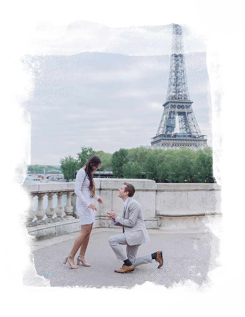 paris proposal with gloria villa photographer