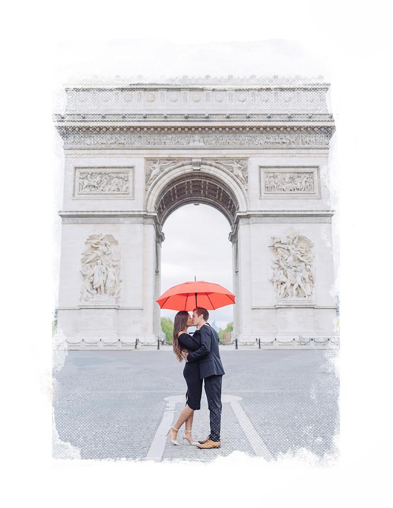 sesión de fotos de pareja en paris