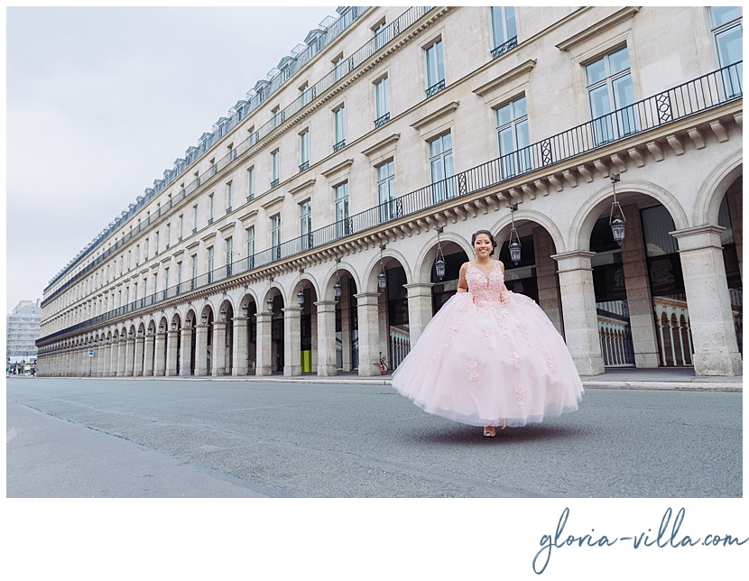 quinceanera ideas, celebrate with a photoshoot by Paris photographer Gloria Villa