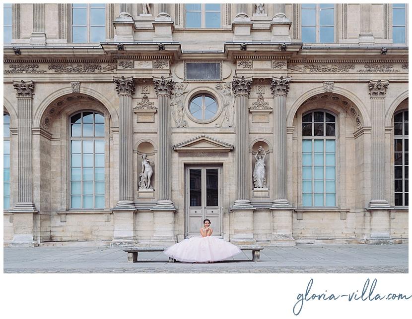fiesta de quinceañera en París por fotógrafa Gloria Villa