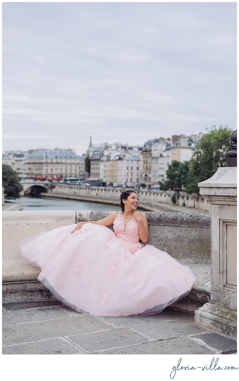 Quinceanera ideas by Paris Photographer Gloria Villa