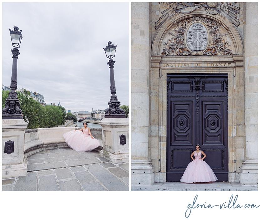 Quinceanera inspiration by Paris Photographer Gloria Villa