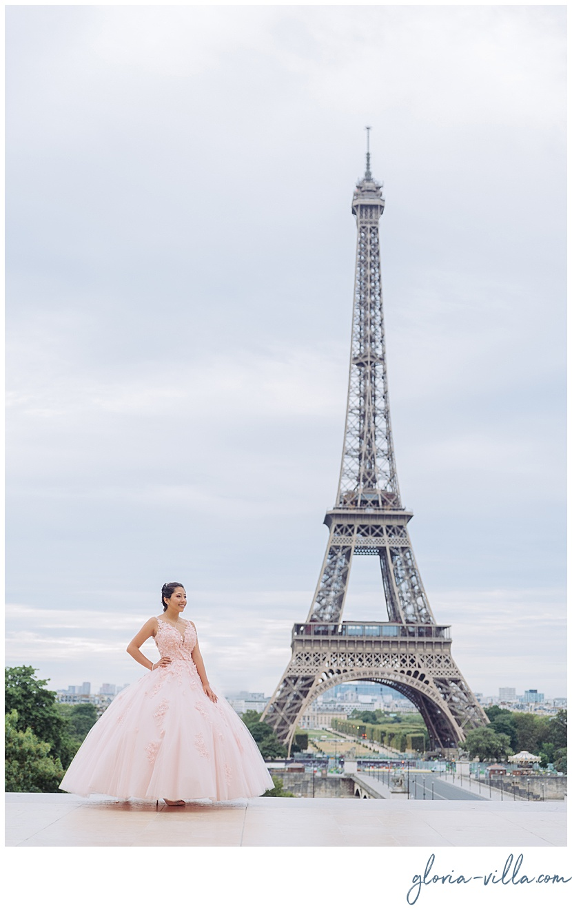 quinceanera paris theme party by gloria villa