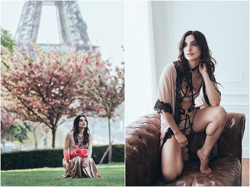 Mejor fotógrafo de boudoir en París Gloria Villa