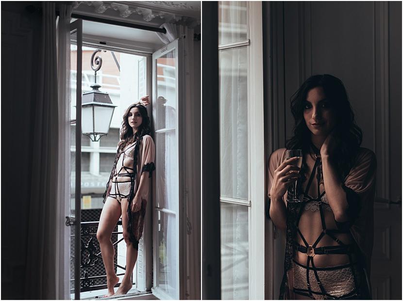 fotos sexis en Paris con Gloria Villa